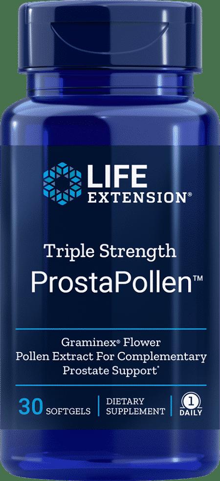 Triple Strength ProstaPollen™, 30 softgels 1