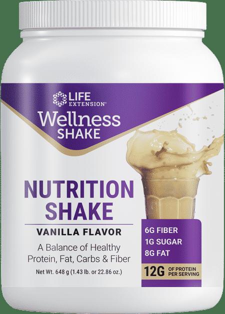 Wellness Shake Nutrition Shake Van Fl, 22.86 oz 1